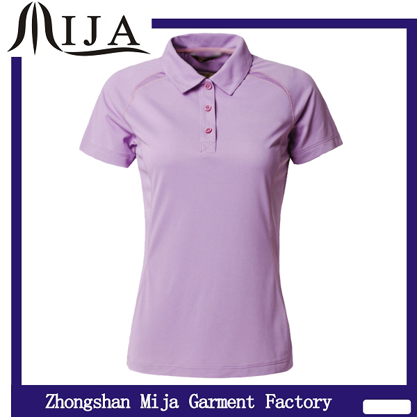 100 polyester moisture wicking polo shirt ladies shirt for Women s dri fit polo shirts wholesale