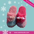 Tpr ou EVA único Material diferente colorido personalizado confortável chinelo para a mulher