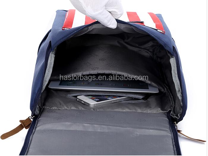 Personnaliser léger US drapeau sacs d'école pour les adolescents