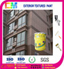 UV resistant & weather resistant sandstone effect exterior wall paint
