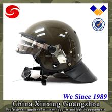 military anti riot helmet & helmet with mask & helmet with visor