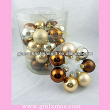 2015 New Product Charming Christmas glass ball,trade assurance supplier