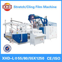 3 layer co extrusion lldpe stretch film extruder