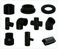 Forged flange for HDPE butt welding fittings
