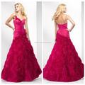 Mujeres vestido de fiesta de largo, vestidos de noche, rojo vestido de noche