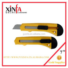 ABS plastic handle carbon steell utility blade knife