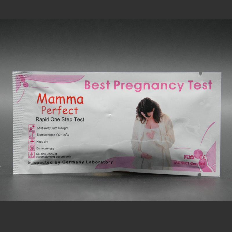 Kit de prueba, prueba de embarazo, kit de prueba de embarazo