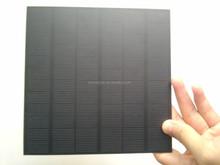 5V mini PET epoxy solar panel for light