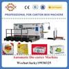 carton box making machine /computer control paperboard autoamtic die-cutter machine