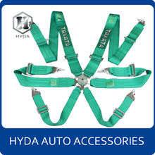 Hot Selling 3 inch 6 point safety harness belt