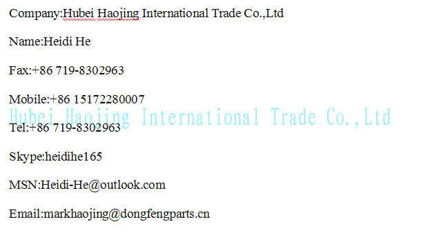truck 6*4 trailer for Dongfeng parts