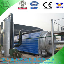 2014 design high profit tyre recycling to oil pyrolysis machine