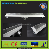 SUS304 Strainer Style and Floor Application floor waste grate sanitary drain 316L grating/draing/ floor grilles WITH GOOD PRICES