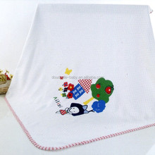 Happy girl printed baby quilt