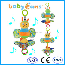 2015 popular baby musical hanging toys lovely bee stuffed animal plush toy buy toys from china