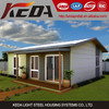 Light Steel Structrue Villa Prefabricated Log Homes Beach House / Granny Flat 007