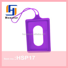 Fashion Bag Colorful TOP Selling Rubber Silicone Luggage Tag
