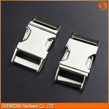 China wholesale metal side release buckle, metal quick release buckle