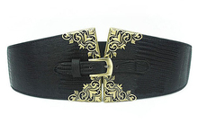 Top Quality Fashion New Design Extra Wide Obi Suede Belt Wholesale