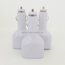 Top quiality car charger Multi 4 USB 5V 2.1A car charger adapter