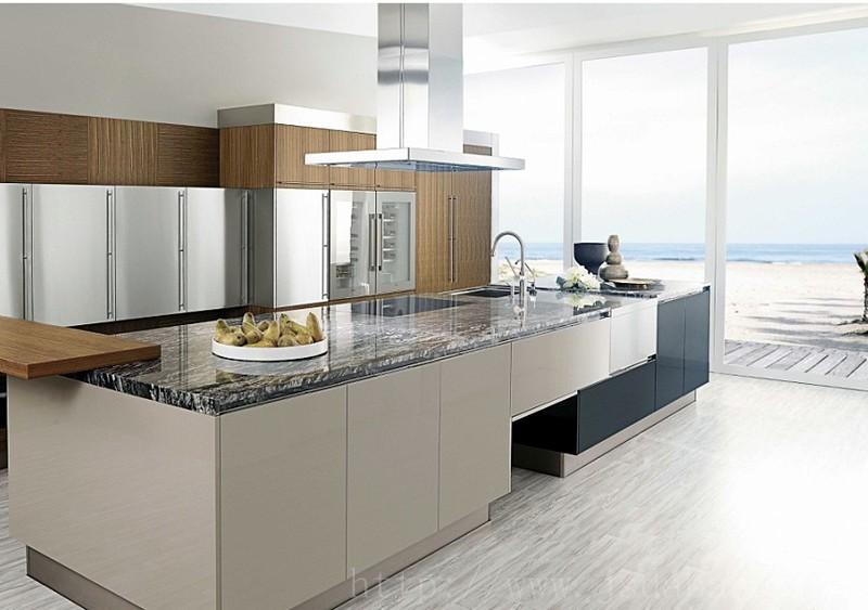Aangepaste modulaire moderne mdf melamine keuken kast fabrikant land land keukenkastjes keuken - Aangepaste kast ...