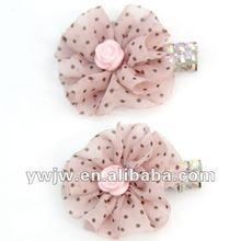 2012 Newly Flower Shape Diamonds Hair Pins(JW-376)