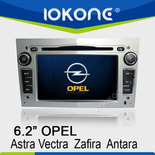 Special for opel vectra navigation with 6.2 inch touch screen in dash car dvd