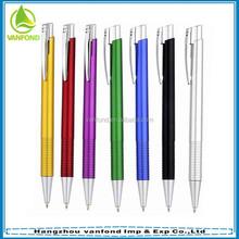 Cheap colorful barrel promotional plastic pen wholesale