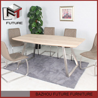 cheap new design wholesale restaurant dining set Chinese furniture import