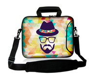 Various inches 3mm neoprene Netbooks Laptop Bag Cover Case Pouch Sleeve Protector insulated Holder shoulder Messenger bag