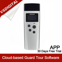 Human Tracking Device Guard Tour Patrol System with OLED Display