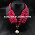 Nuevo collar de la marca del mercado, venta al por mayor collar con cuentas de collar