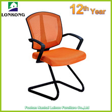 Polypropylene Seat and Back Office Swivel Chairs No Wheels
