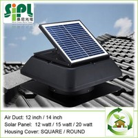 Solar Power Exhaust Fan roof top exhaust fan