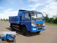 Foton forland 4*4 dump truck for EAST Africa,used tipper,actros mercedes tipper