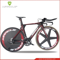 MIRACLEBIKES TT bike frame,carbon TT frame, Super Style Time Trial bike carbon frames with Perfect Painting