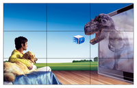 Factory made Samsung panel tv led wall screen for advertising