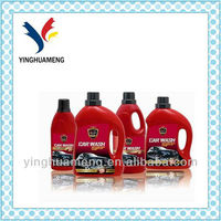 bottle traditional car wash shampoo made in China