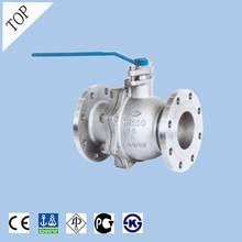 china valve wholesale high quality acid resistant 300lb API WCB floating flanged high temp ball valve dn250