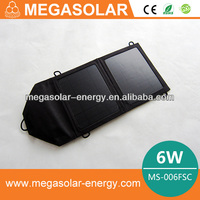 6W Folding solar bag charger MS-006FSC