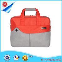 Fashionable Design Famous Brand laptop mouse bags top open laptop bag