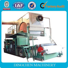2015 small paper plant facial tissue paper folding and embossing machine