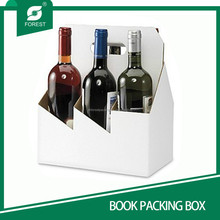 PAPER PACKAGING BOX WINE BOTTLE CARRIER