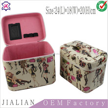 factory customized faux leather jewellery packing boxes