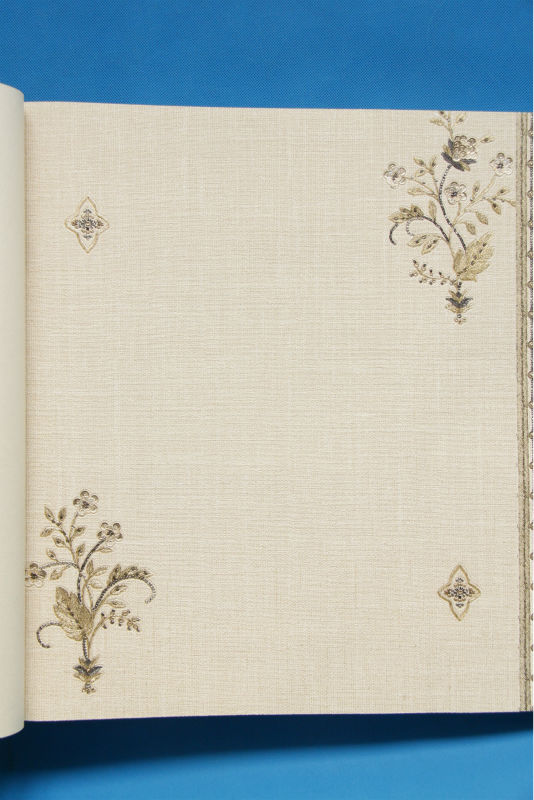 Doratura glitter paillettes fiore di lino profondo goffratura ...