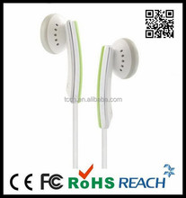 2012 earphone with customized logo,without mic