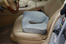 Top seller beige car and home seat massage cushion hot on Amazon