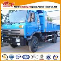Used man diesel tipper truck Dongfeng brand 4X2 dumper truck