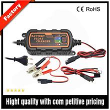 Impermeable 12 V 1.5A portátil automático cargador de batería de coche para coches / barcos / motocicletas