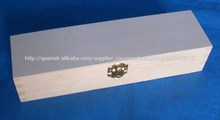 Nueva caja de madera diseñada con compartimentos